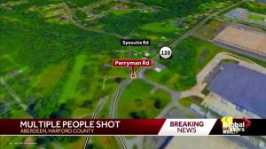 Police respond after multiple people shot in Aberdeen, MD